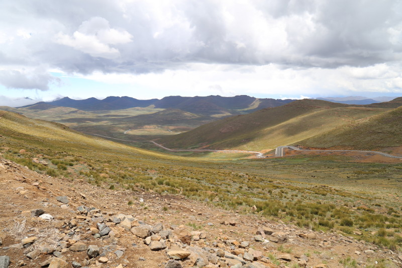 45 Lesotho from 3000 m